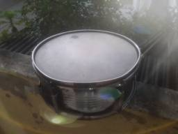 Caixa de bateria em metal pele Dudu Pontes
