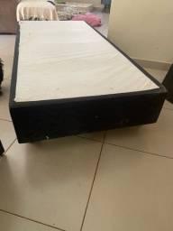 Box de cama solteiro
