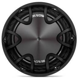 PAR Subwoofer Bravox Premium Plus 12 Polegadas 220W 4+4Ohms Bobina Dupla Grave Forte