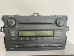 Radio Som Original Toyota Corolla 2009 A 2014  Usb Bluetooth