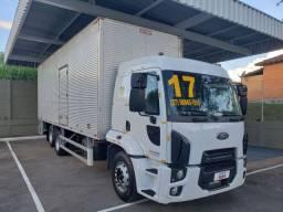 Caminhão Ford cargo 2429 2017automático TOP completo c baú