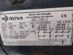 Motor monofásico 220 volts