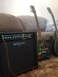 Amplificador Behringer VT 50FX novo