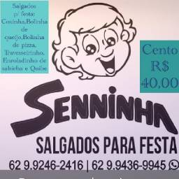 Salgados  de festa  R$40:00 o cento