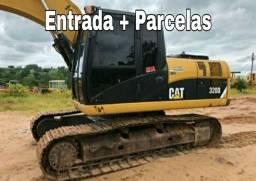 Escavadeira hidráulica Cat 2012