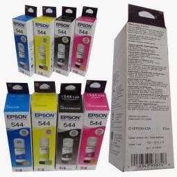 Impressora Epson tinta T544 original kit 4 cores