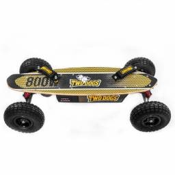 Skate elétrico off road 800W Two Dogs