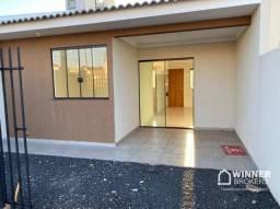 Casa com 2 dormitórios à venda, 62 m² por R$ 162.000 - Jardim Hamada - Marialva/PR