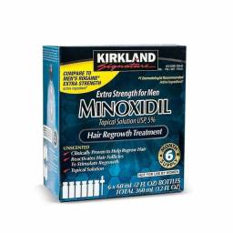 Minoxidil Tratamento 6 meses