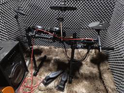 Bateria eletrônica Turbo Mesh 120 sons