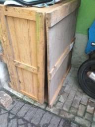 Caixa madeira tratada 1.20 x 1.00 com tampa