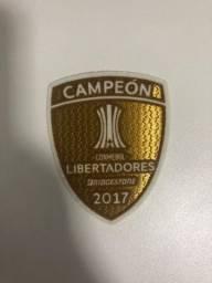 Patch campeão libertadores 2017