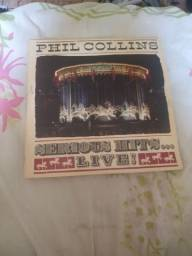 Lp Disco Phil Collins - Serious Hits...live!