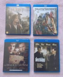 4 blu-ray's filmes em alta definição (originais) R$ 65,00