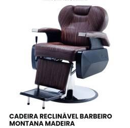 Cadeira reclinável  barbeiro  Montana