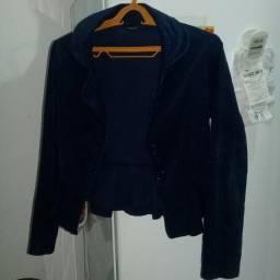 Jaqueta em veludo cotelê tam M