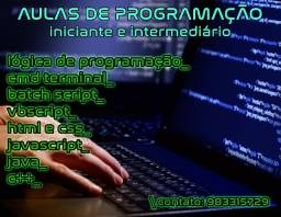 Aula de programação