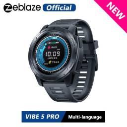 Relógio Smartwatch Zeblaze Vibe 5 Pro - Touch Screen -Preto 5%Off