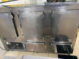 Balcão de refrigerado bandeja