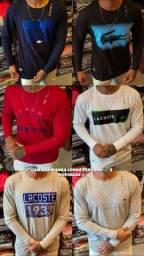 Camisas manga longa peruana (ATACADO E VAREJO)