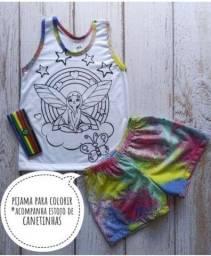 Pijamas de colorir