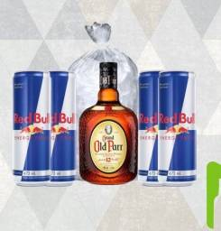 Combo whisky grand old parr 12y 1l
