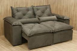 Queima de estoque sofá retratil reclinável ? super confortável 1,290 Frete grátis ?
