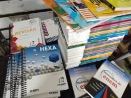 Livros Poliedro - Coleção Completa + Livros de Questão + Revistas