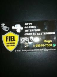 Cftv - concertina - interfone
