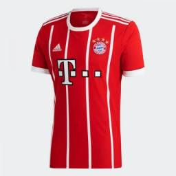Camisa Bayern De Munique Home 17/18 - Torcedor Adidas Masculina