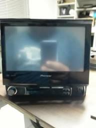 Dvd retrátil Pioneer AVH 3580 semi novo