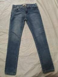 Calça jeans feminina infanto juvenil