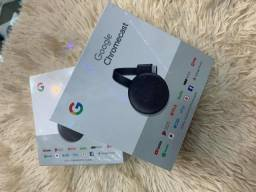 Chromecast 3 original novo lacrado