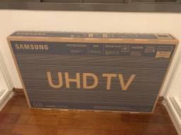 "Smart TV LED 50"" Samsung TV NA CAIXA NOVA!"