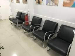 Poltrona para sala de espera