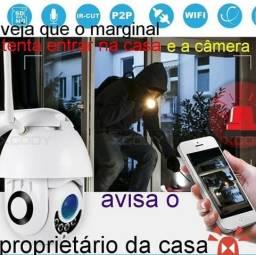 Instalaçao de camera ip com wifi via aplicativo