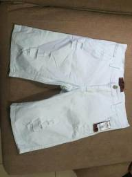 Bermudas Jeans e Moleton