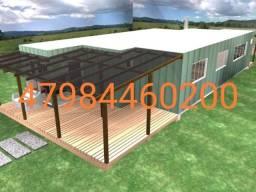 Casa container 90m2 com 3 quartos em Dourados