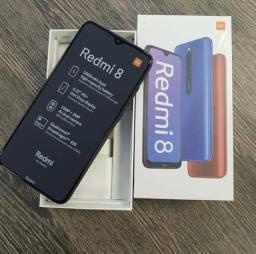 Xiaomi Redmi 8 32GB, Super Bateria 5000 mAh, Novo/Lacrado, Versão Global + Garantia