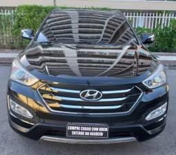SANTA FÉ 2013/2014 3.3 MPFI 4X4 V6 270CV GASOLINA 4P AUTOMÁTICO - 2014