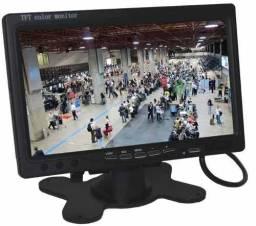 Tela Lcd 7 Polegadas Portátil Monitor Veicular Digital 1