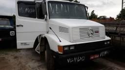 MB 1214 Bicuda com carroceria + caçamba - 1990