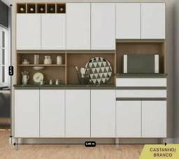 Título do anúncio: Cozinha Br Meireles - 12 PTS - MDF