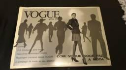 Catálogo de manequins da Vogue.