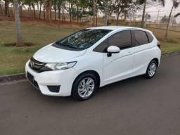 Honda fit LX 2016/16 automático couro impecável