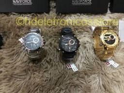 Lançamento a pronta entrega relógio Navi force original