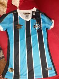 Camiseta do Grêmio feminina original nova!