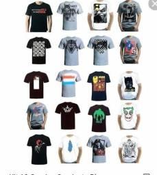 Camisetas de algodão