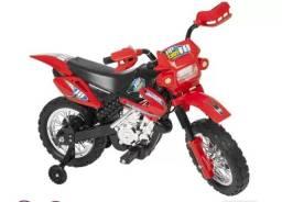 Moto Elétrica Infantil Cross - Homeplay<br>