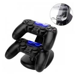 Suporte carregador duplo controle dualshock joystick PS4